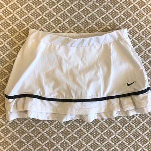 White Nike tennis skirt